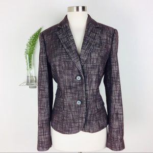 Talbots Gorgeous Stylish Textured Blazer Size (10)
